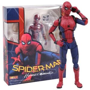 Spider-Man-Homecoming-The-Spiderman-PVC-Action-Figure-Collectible-Model-Toy-14cm