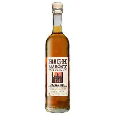 High West Double Rye Whiskey 750mL bottle American Whiskey Utah