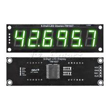 056 Inch Tm1637 6 Digit 7 Segment Digital Tube Module With Green Display 5v