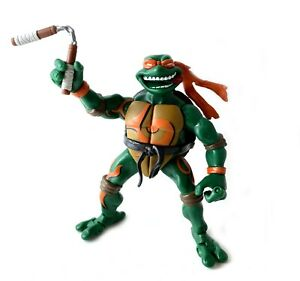 Mystic-Fury-Mike-Vintage-TMNT-Ninja-Turtles-Action-Figure-2005-Michelangelo