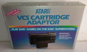 Atari-5200-SuperSystem-2600-VCS-Game-Cartridge-Adapter-CX55-Brand-New-NOS-RARE