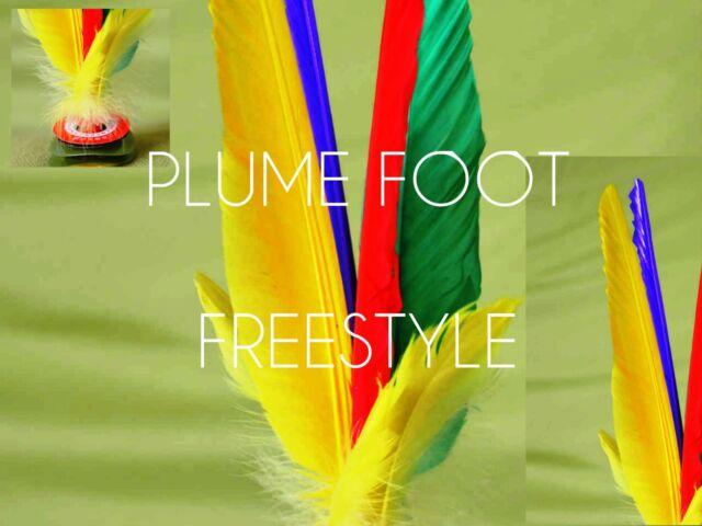 * Plumfoot *Jianzi * DA CAU * Shuttlecock * Federball * 20cm
