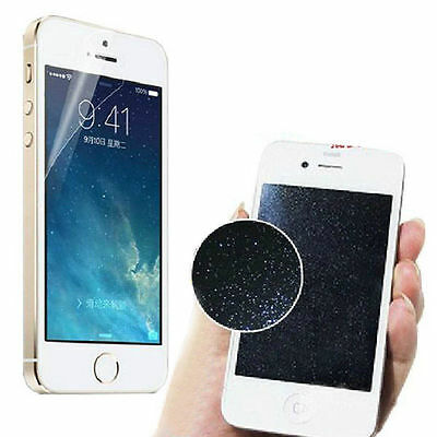 2Pcs=(Front & Back )Silver Sparkle Glitter Screen Protector For iPhone 5 6S Plus