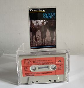 The Jam Snap Limited Edition Double Pack 2 x Cassettes Move On Up Live Rare!
