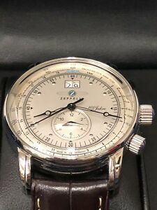 56a0c0c202f Authentic Brand New Graf Zeppelin Dual Time Big Date 100 Years Of ...