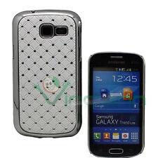 Custodia cover BRILLANTINI per Samsung Galaxy Fresh Trend Duos S7392 BIANCA