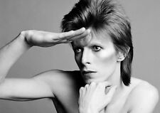 David Bowie The Ziggy Stardust Look BW POSTER