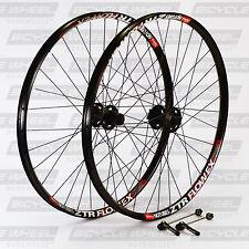 "Stans Flow EX 26"" Shimano XT M756 hub, DT Swiss, Mountain Bike Wheel Set. MTB"