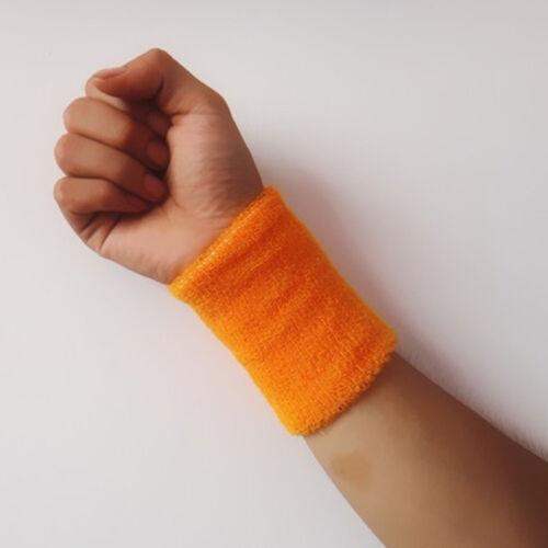 1PC Unisex-Spandex Sweatbands Sports Wrist Band Tennis Gym Yoga Sweat Wristbands