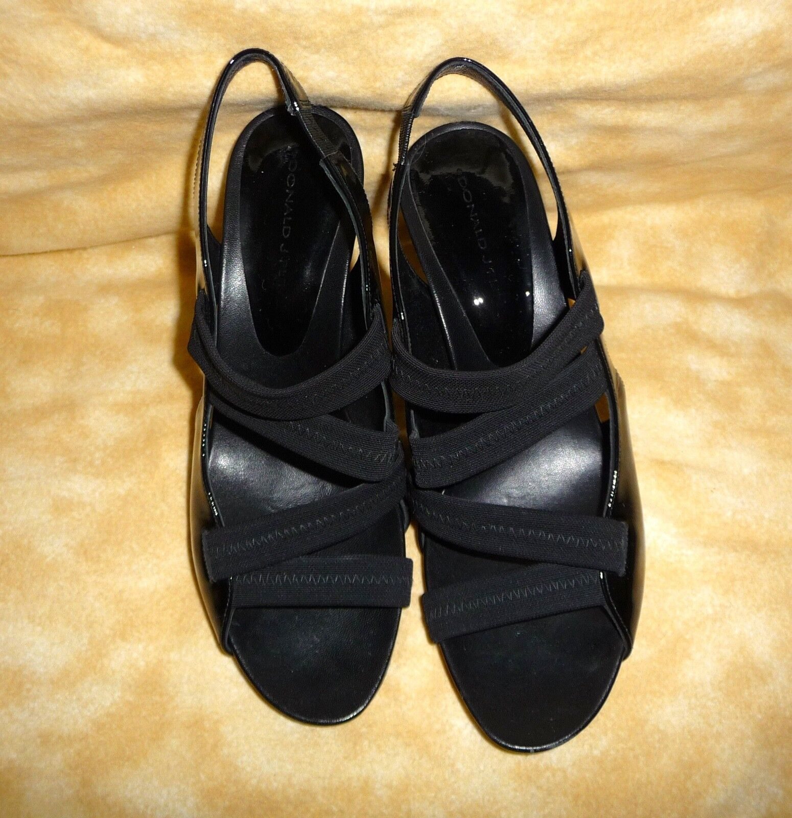 Donald j pliner black high heal shoe size 8.5 8.5 8.5 woman made in spain 60f8f4
