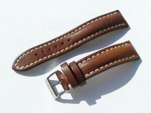 20mm-Breitling-431X-Band-20-18-Kalb-braun-brown-Strap-mit-Dornschliesse-070-20
