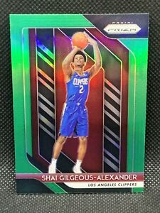 2018-Panini-Prizm-Green-Shai-Gilgeous-Alexander-Centered-HOT