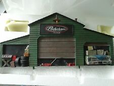 GMP Pork Chop's Chop Shop Garage Diorama 1:18 Scale Model Display For Diecast