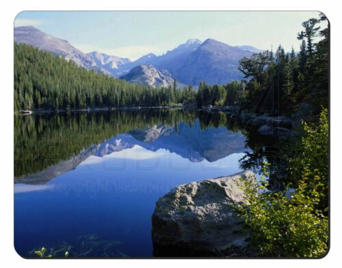 Tranquil Lake Computer Mouse Mat Christmas Gift Idea W-2M