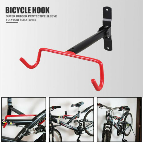 Mountain Bicycle Storage Wall Mounted older Rack Stand Bike Steel anger OqRnV