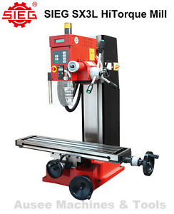 Remarkable Details About Sieg Sx3L Hitorque Milling Machine Large Table Spindle Spd Display Tapping Mode Pabps2019 Chair Design Images Pabps2019Com