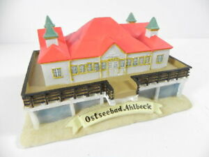 Ehrlich Ostseebad Ahlbeck Heringsdorf Usedom,15 Cm Poly Modell,neu Reiseandenken