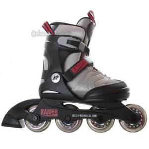 Junior NEW Inline Details about 5 70mm Adjustable Recreational 1 K2 Skates Raider Kids bvIf7g6Yy