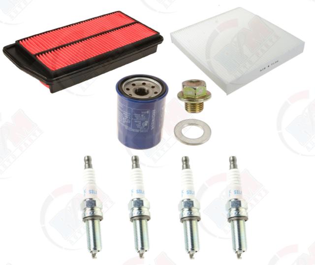 Tune Up Kit W/ NGK Laser Iridium Plugs For 2007-2012 Acura