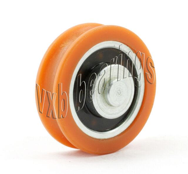 Nylon Window slide Bearing 6x28x14.5 wide 11.5 Miniature Ball Bearings 8400