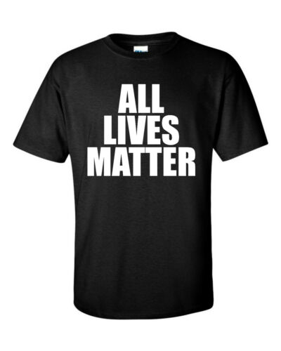 All Lives Matter T Shirt Protest Support Tee Civil Rights T-Shirt Freedom Youth+