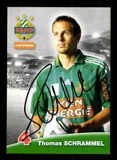 Thomas Schrammel Autogrammkarte Rapid Wien 2012-13 Original Signiert+A 146988