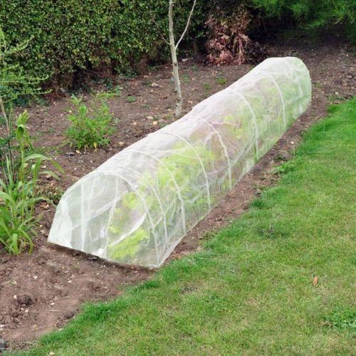 3m Protector de adjudicación Planta Jardín Vellón Mariposa Net túnel Mini Invernadero