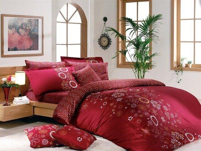 Bettwäsche für 1 Person 3-tlg. Bettgarnitur