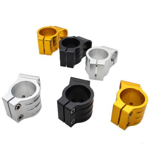 "Moto 7//8 /"" CNC Pince sur Guidon Têtes Supports Standard 31mm-55mm Aluminium"