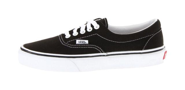 4a6330560f06f Vans Unisex Women Men Shoes Classic Era Black White Canvas VN000EWZBLK  Sneakers