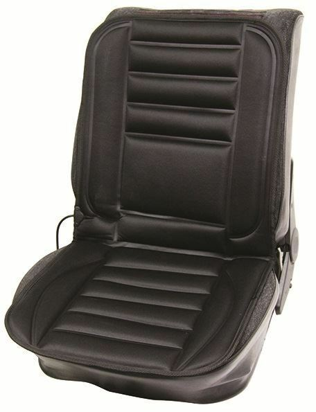 Streetwize 12V Vehicle Hi Lo Control Heated Seat Cover Cushion