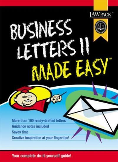 Business Letters II Made Easy,David Crosby