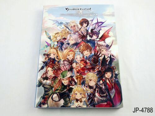 Granblue Fantasy Graphic Archive IV 4 Japanese Artbook Art Book Japan US Seller