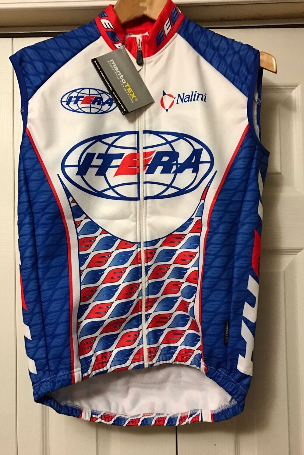 Nalini Itera cycling shirt sleeveless zip size small Manto  Tex NEW   with 60% off discount