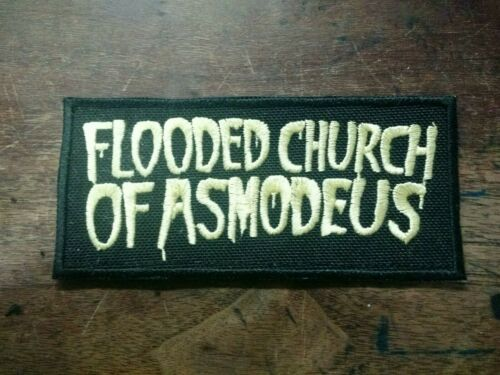 Flooded Church of Asmodeus Patch Embroidered Custom