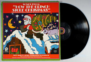 Marty-Gold-How-the-Grinch-Stole-Christmas-1973-Vinyl-LP-Holiday