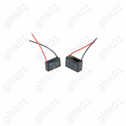 Condensadores de inicio de Ventilador de 1x CBB61 1 1.2 1.5 2 2.5 3 3.5 4 4.5 5UF 450V Condensador De Aire Acondicionado