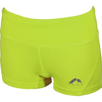 More Mile More-Tech Womens Boy Running Shorts Green