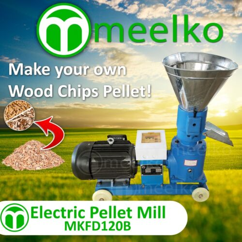 8 mm die for wood PELLET MILL 4HP 3KW ELECTRIC US Stock