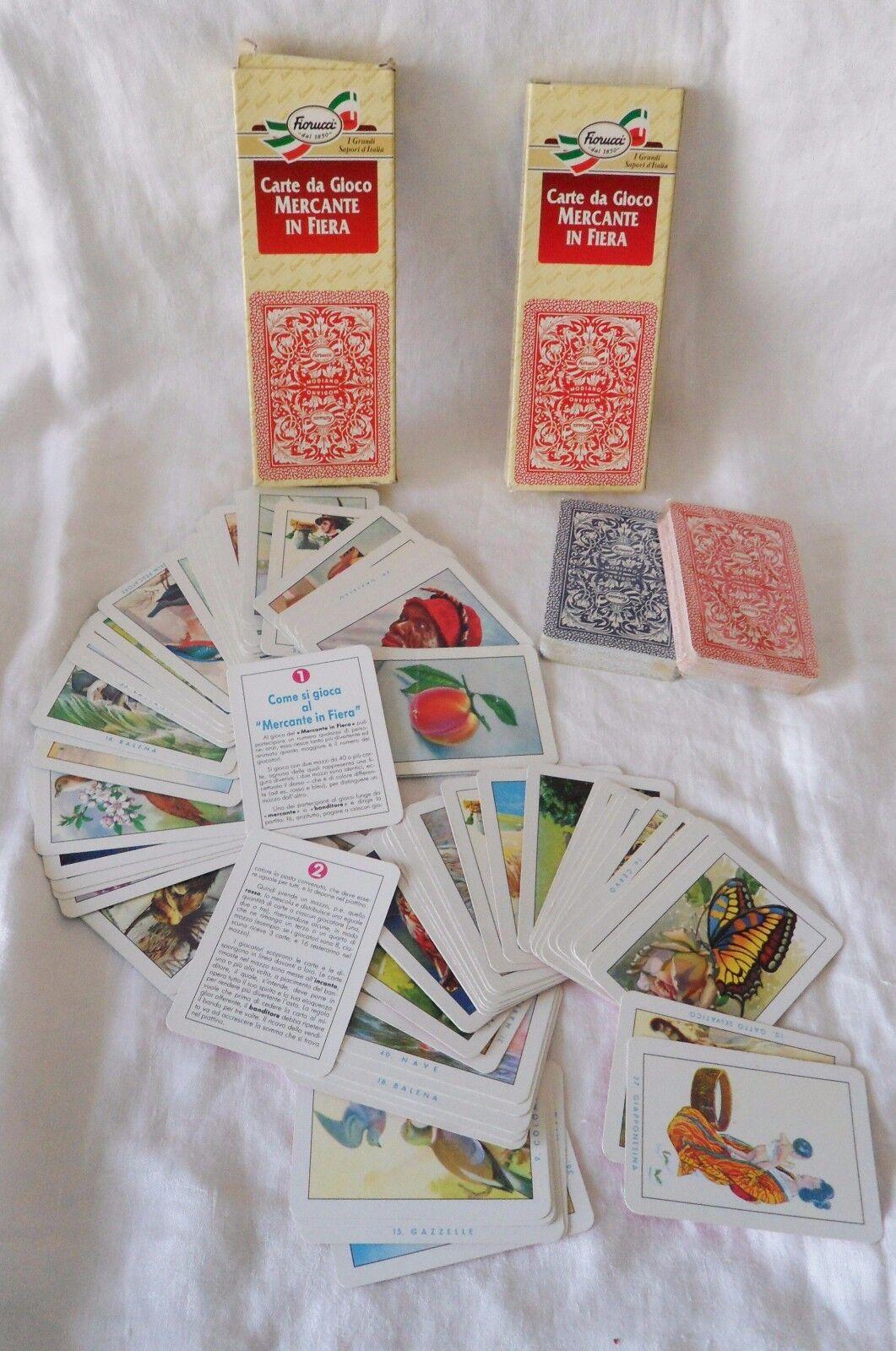 Collezione Carte da da da Gioco Dal schwarz Modiano Masenghini Italcards Piatnik 61757a