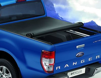 Ford Ranger 2016 Style X Tonneau Cover Rigid For Double Cab