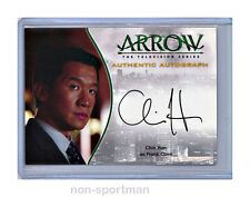ARROW SEASON 1 CRYPTOZOIC A17 CHIN HAN AUTO