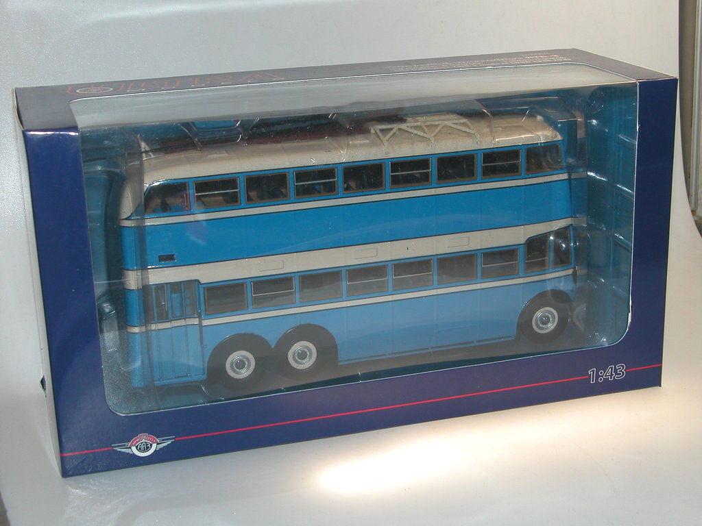 Ultra models, Double Deck trolebús yatb - 3, USSR, biplanos o-bus 1 43