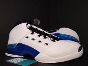 d686623ac4c 2002 Nike Air Jordan XVII 17 WHITE BLACK COLLEGE BLUE NAVY SILVER ...