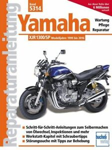 book repair manual yamaha xjr 1300 sp racer models 1999 2016 band rh ebay com yamaha xjr 1300 service manual pdf yamaha xjr 1300 repair manual