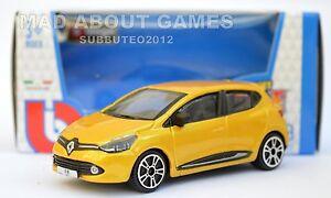 RENAULT-CLIO-Yellow-1-43-Car-NEW-Model-Diecast-Models-Cars-Die-Cast-Metal