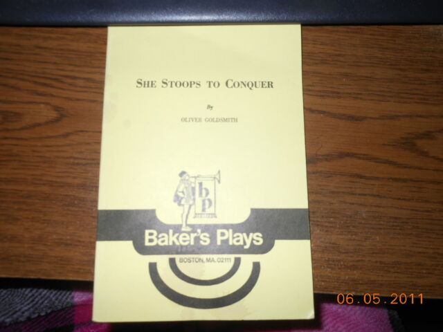 She Stoops To Conquer By Oliver Goldsmith Ebay