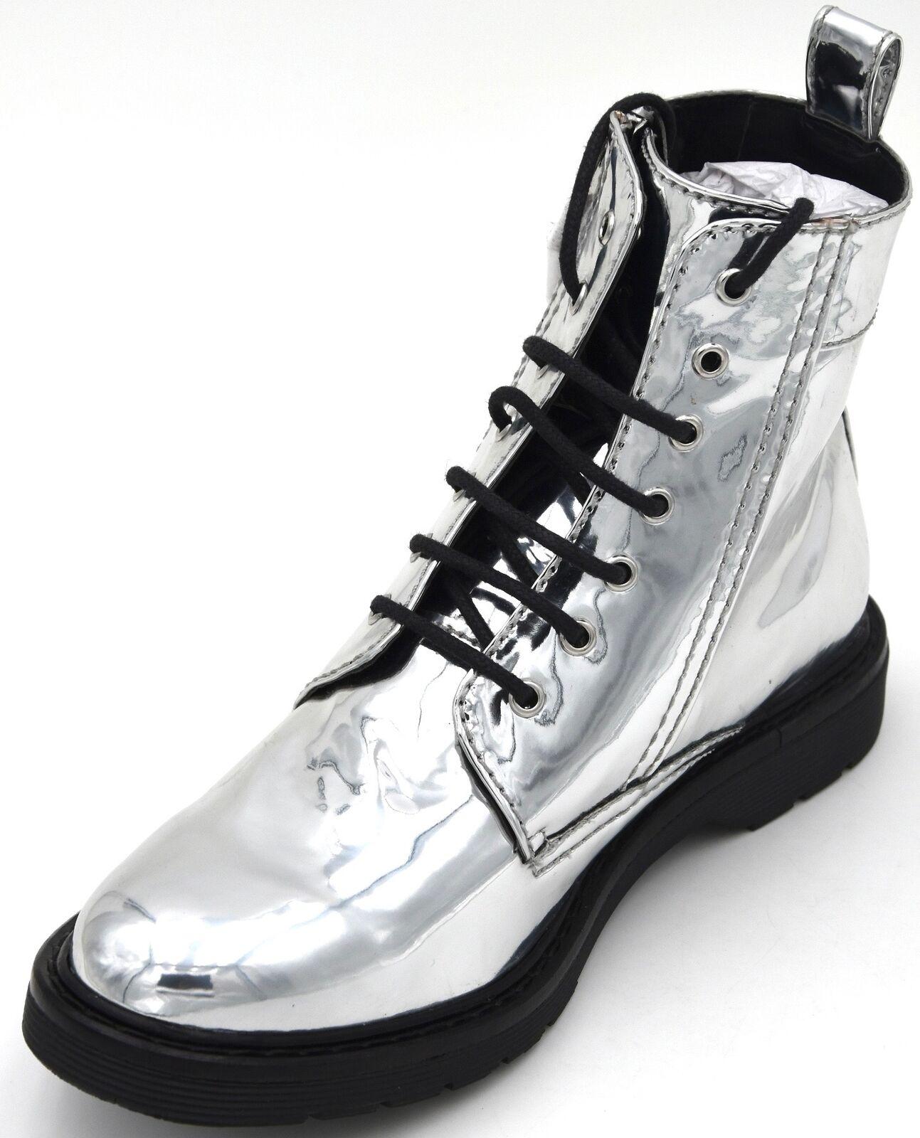 Armani Exchange señora botas botines botas de cuero faux invierno xdn005 xv063