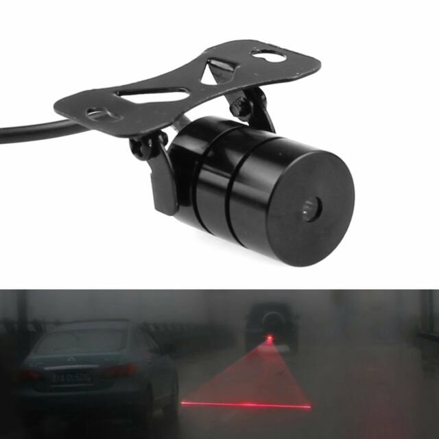 Auto Car Laser Fog Light Rear Anti-Collision Driving Safety Signal Warning Lamp