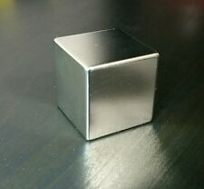 "1 Huge Neodymium Block Magnet Cube. Super Strong Rare Earth N42 grade 1.25"""
